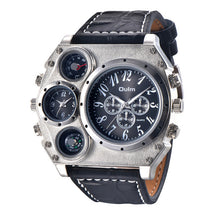 Load image into Gallery viewer, Large Industrial Gauge Watch - Men's Watch by Oulm - HANDS OV CHRONOS
