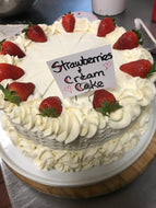 Strawberry Cream Cake 8
