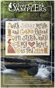 Stitching Feeds My Heart by Silver Creek Samplers
