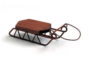 Mini Sled Ornament