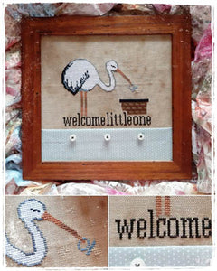 Welcome Little One by Fairy Wool in the Wood