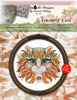 Pumpkin Colorful Cat-- PDF--by Pam Kellogg/Kitty and Me