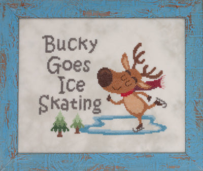 Bucky goes Ice Skating by Glendon Place