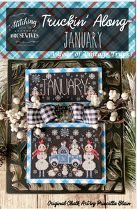Truckin' Along January by Stitching with the Housewives