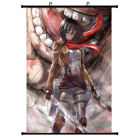 Attack on Titan (Vers. A) Anime Wallscroll Poster, 60 x 90 cm