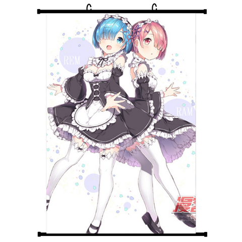 Re:Zero (Vers. B) Anime Wallscroll Poster, 60 x 90 cm