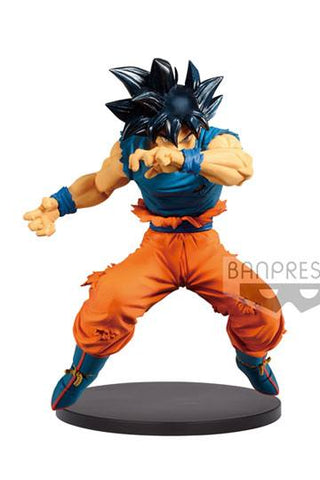 Dragon Ball Super - Ultra Instinct Sign Son Goku Anime PVC Figur, 16 cm