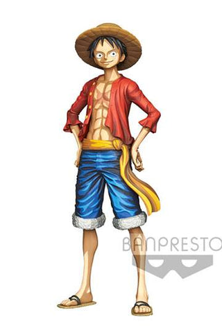 One Piece - Monkey D. Ruffy Manga Dimension PVC Figur, 27 cm