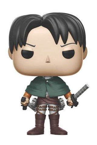 Attack on Titan - Levi Ackerman Funko POP! Anime Vinyl Figur, 10 cm