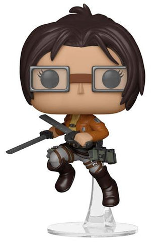Attack on Titan - Hange Funko POP! Anime Vinyl Figur, 9 cm