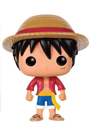 One Piece - Monkey D. Ruffy Funko POP! Vinyl Figur, 9 cm