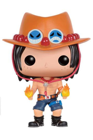 One Piece - Portgas D. Ace Funko POP! Vinyl Figur, 9 cm