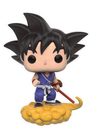 Dragon Ball Z - Goku auf Jindujun POP! Anime Vinyl Figur, 9 cm