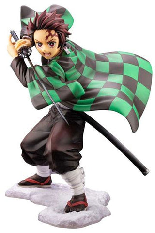 Demon Slayer: Kimetsu no Yaiba - Tanjiro Kamado 1/8 Anime PVC Figur, 18 cm