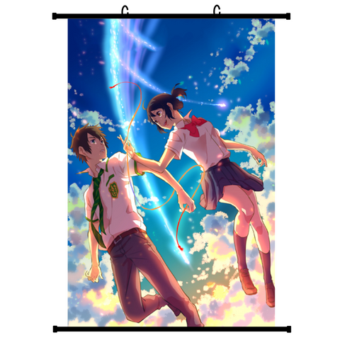 Your Name - Kimi no Na wa (Vers. B) Anime Wallscroll Poster, 60 x 90 cm