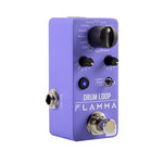 FLAMMA FC01 Mini Digital Guitar Drum Machine Phase Loop Pedal