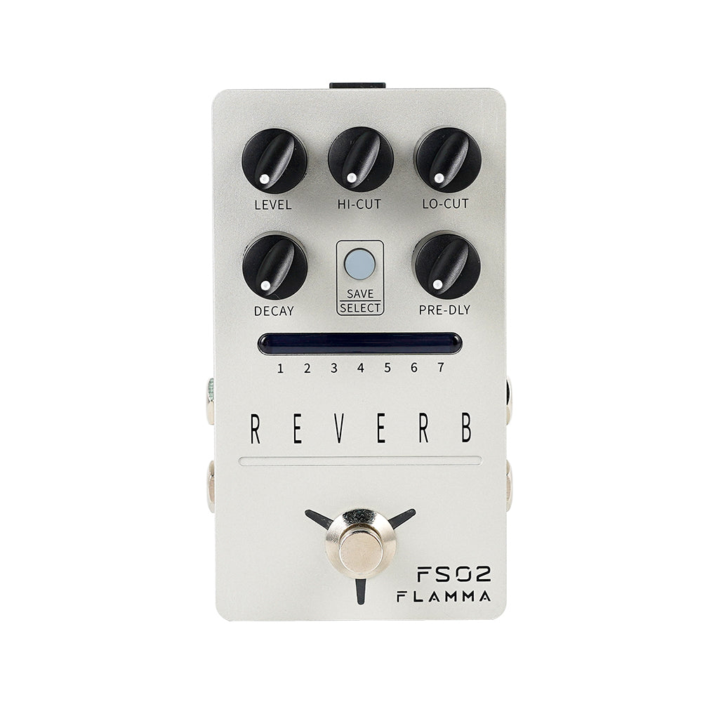 FLAMMA FS02 Reverb Guitar Reverb Pedal Stereo In Stereo Output