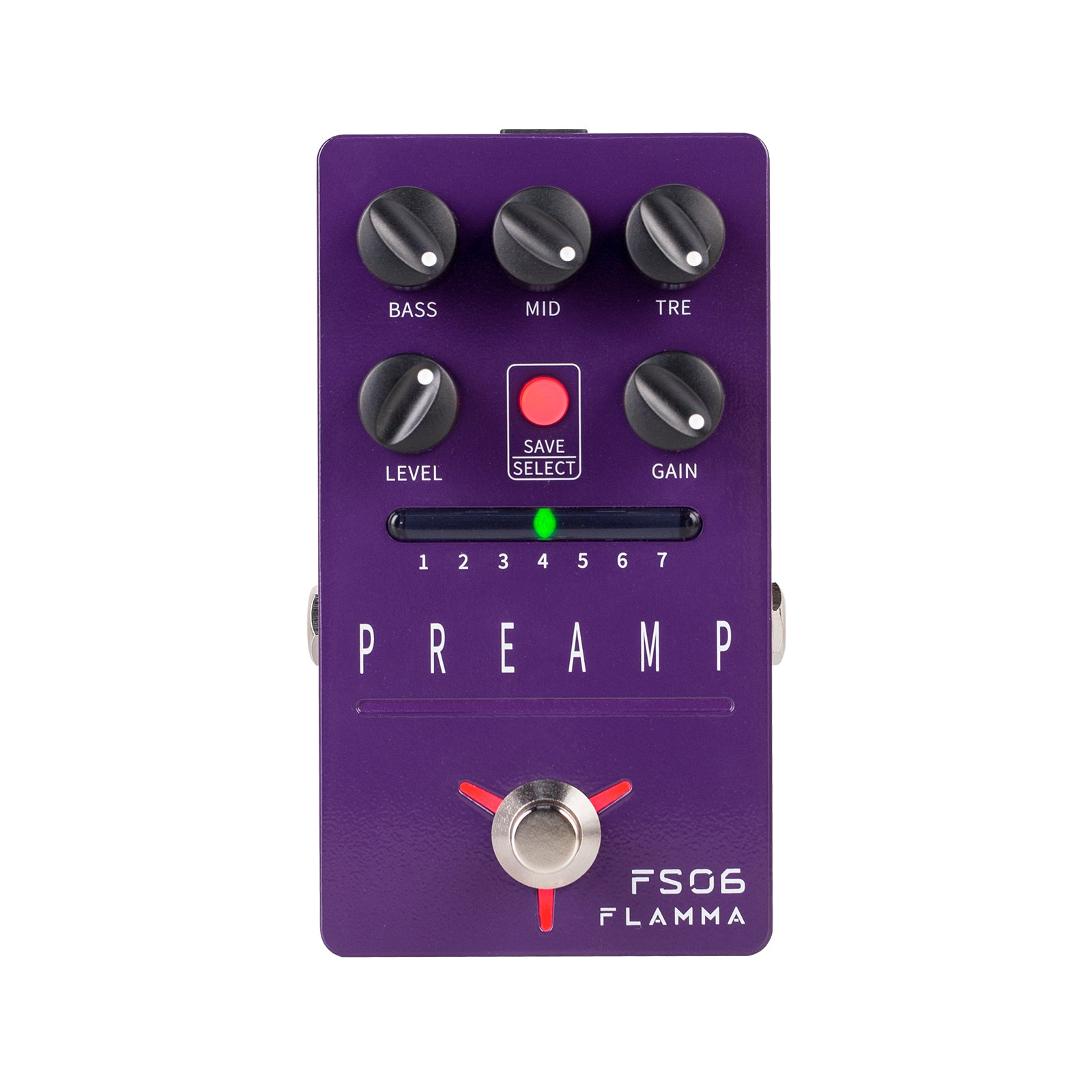 FLAMMA FS06 Digital Preamp with 7 Different Preamp Models