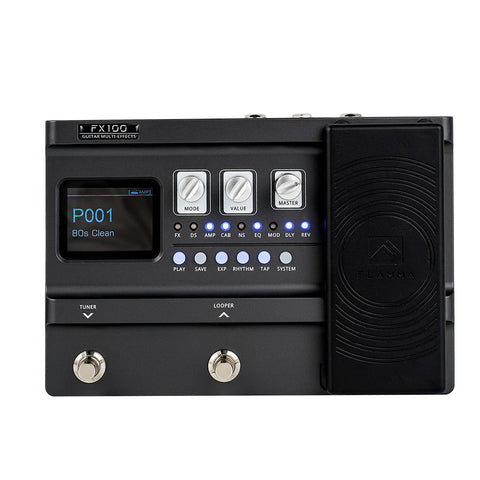 FLAMMA Portable Multi Effects Pedal FX100