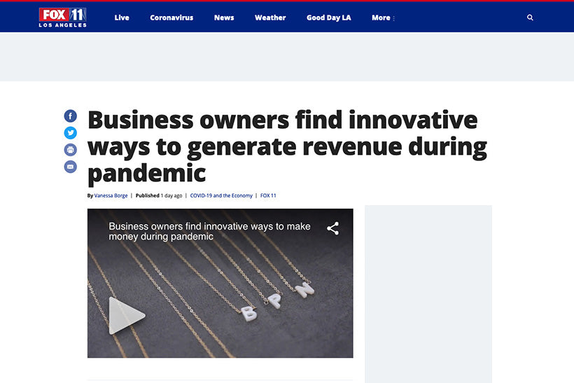 Business Owners Find Innovative Ways to Generate Revenue During Pandemic