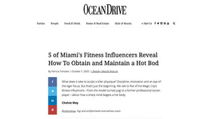 5 of Miami's Fitness Influencers Reveal How To Obtain and Maintain a Hot Bod