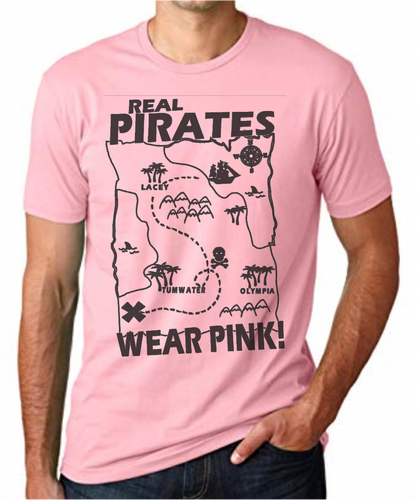 Real Pirates Wear Pink Limited Edition Souvenir Tee