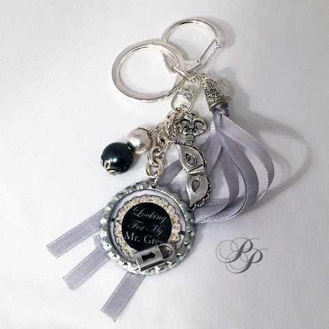 Bijou de sac/porte-clé/Keyring Looking for my Mr Grey