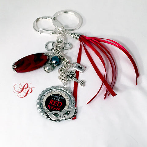 Bijou de sac/porte-clé/Keyring Meet me in the Red Room
