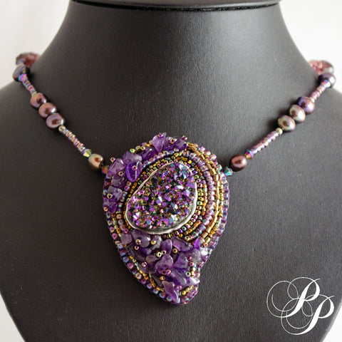 Sweet Amethyst collier