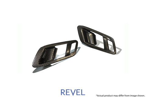 GT Dry Carbon Inner Door Handle Cover Set