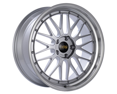 BBS LM 20in Diamond Silver Center / Diamond Cut