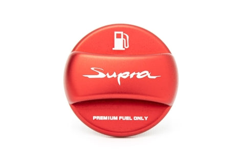ANODIZED FUEL CAP COVER  ( BLACK Or RED)