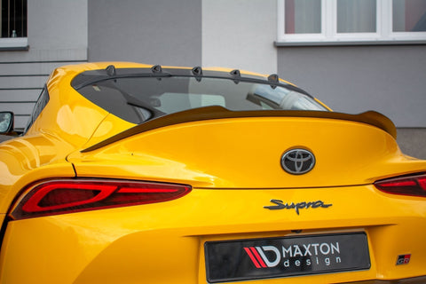 Maxton Design Gloss Black Spoiler Extension