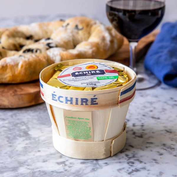 Beurre Echiré Mini Motte (salted) (250g)