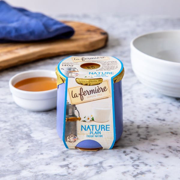 Natural Yogurt, La Fermière (140g)
