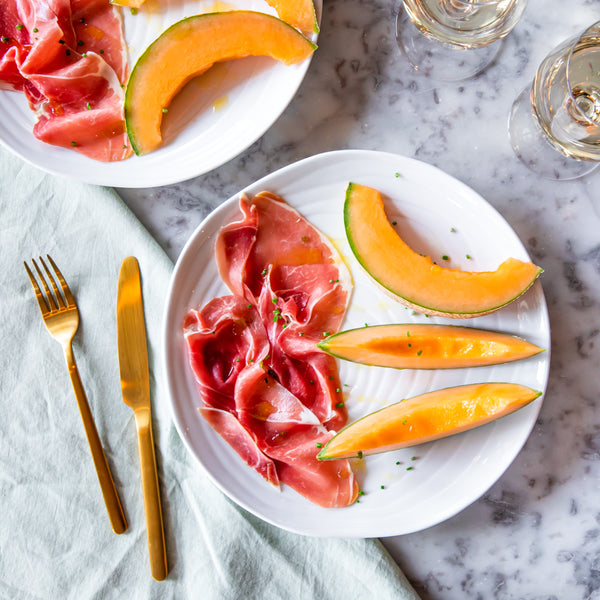 Charentais Melon and Ham