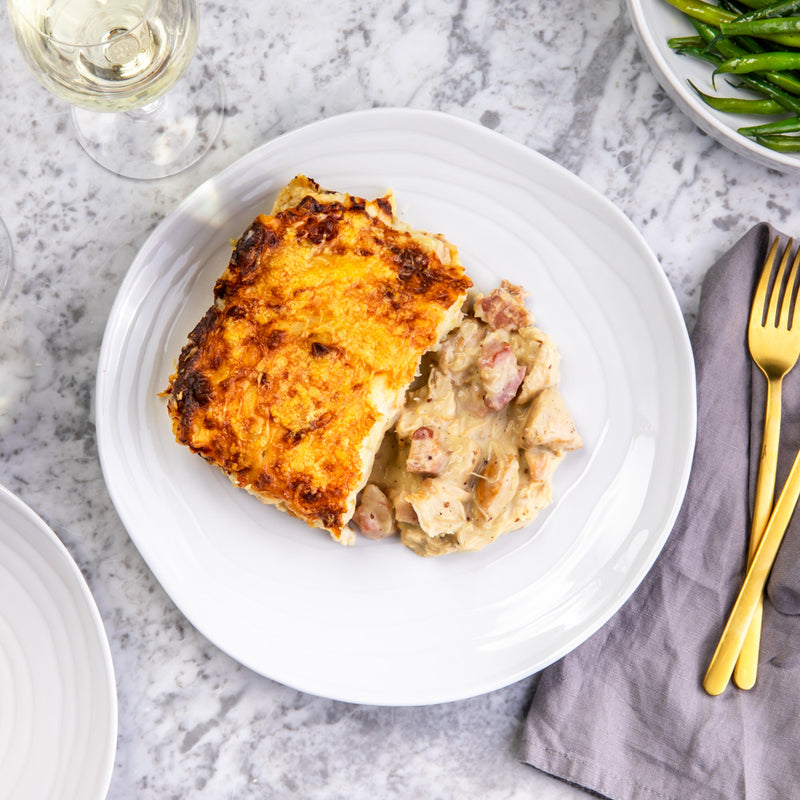 Chicken and Bacon Parmentier