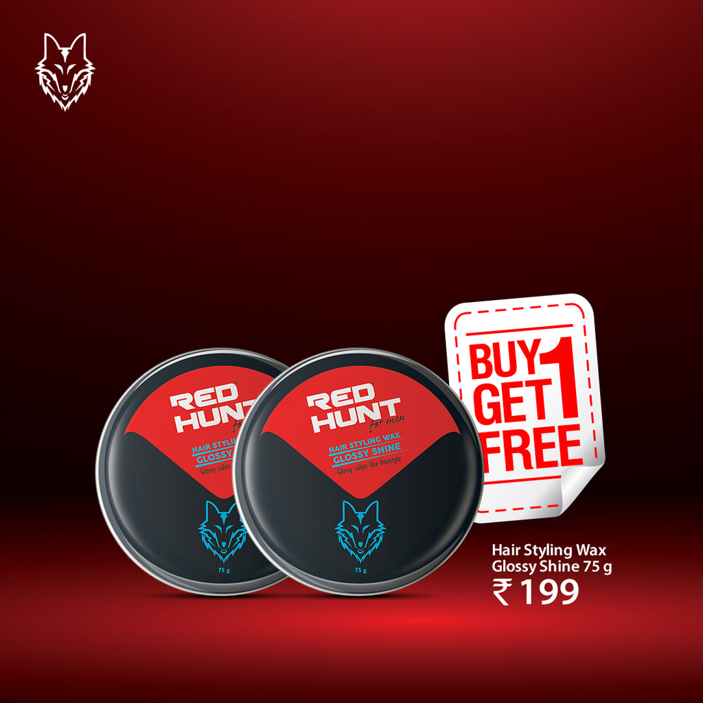 BOGO OFFER - HAIR STYLING WAX - GLOSSY SHINE 75 G