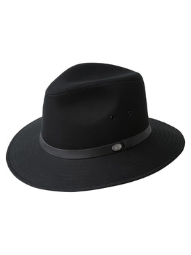 Bailey Dalton Safari Hat in Black