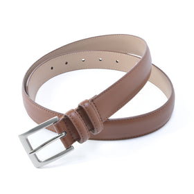 Status Top Grain Leather Belt in Big Man Sizes