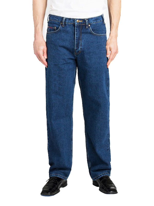 Grand River Classic Jeans in Blue - Big Man Sizes (44 - 54 Waist)