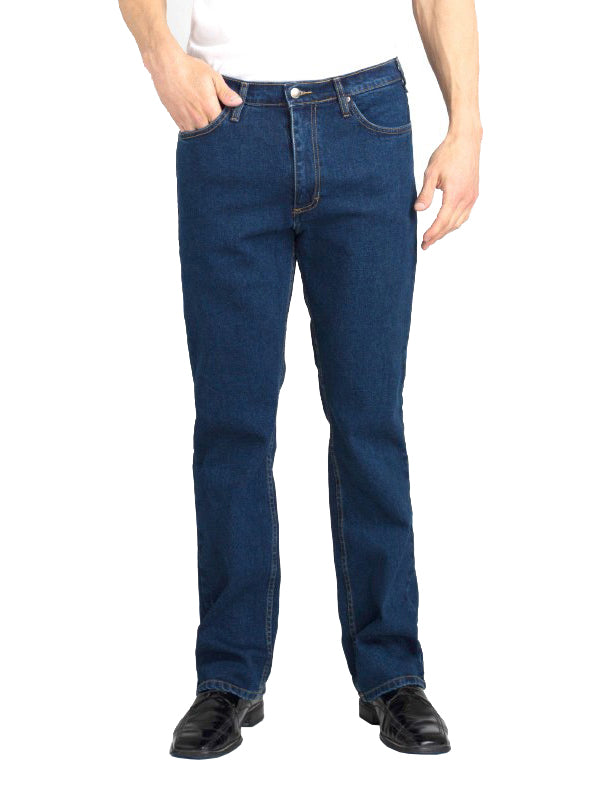 Grand River Stretch Jeans in Blue - Extra Big (56 - 68 Waist)