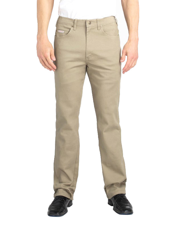 Grand River Stretch Jeans in Khaki - Regulars (32 - 42 Waist)