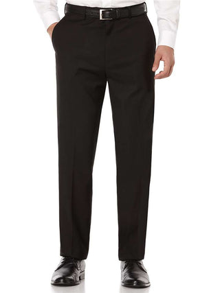 Kenneth Morton 100% Wool Plain Front Pants - Short Man Sizes