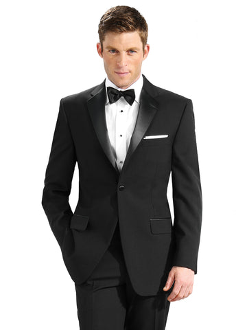 Men's 100% Polyester Tuxedo Coats - Big Man Sizes