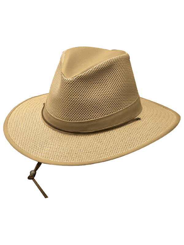 Henschel Packable Aussie Men's Hats in Khaki