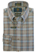 Viyella Wool Blend Sportshirt in Grey - Big Man Sizes