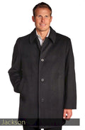 Jean-Paul Germain Wool Blend Men's Car Coats by Ha