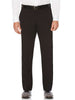 Kenneth Morton Polyester Viscose Short Man Pants in Black