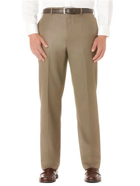 Kenneth Morton Polyester Viscose Short Man Pant in Khaki